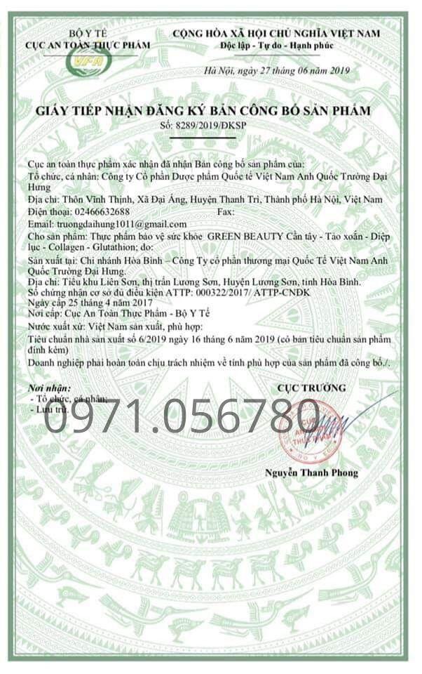giay-tiep-nhan-ban-dang-ky-cong-bo-green-beauty